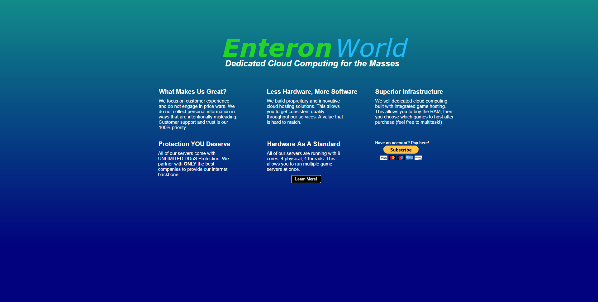 Logo of Enteron World